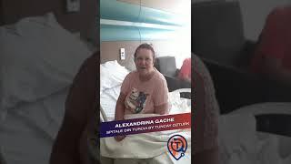 Micșorarea Stomacului: Testimonial Alexandrina Gache - Spitale Din Turcia by Tuncay Ozturk