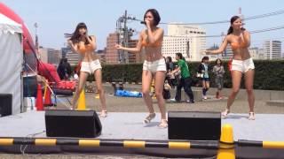 2014.5.4 新潟NST川まつり ミスマリさんステージ2回目.