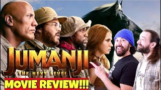 JUMANJI: THE NEXT LEVEL | MOVIE REVIEW!!!