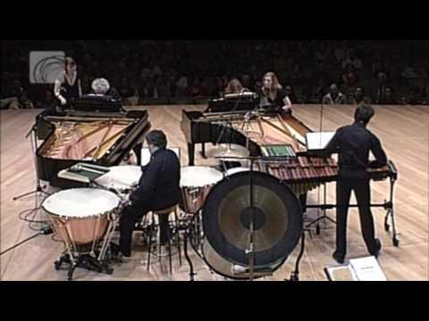 Bela Bartok - Sonata for Two Pianos and Percussion | third movement | Zoltan Kocsis - Ingrid Fliter