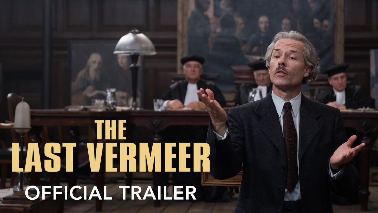 The Last Vermeer trailer met Guy Pearce