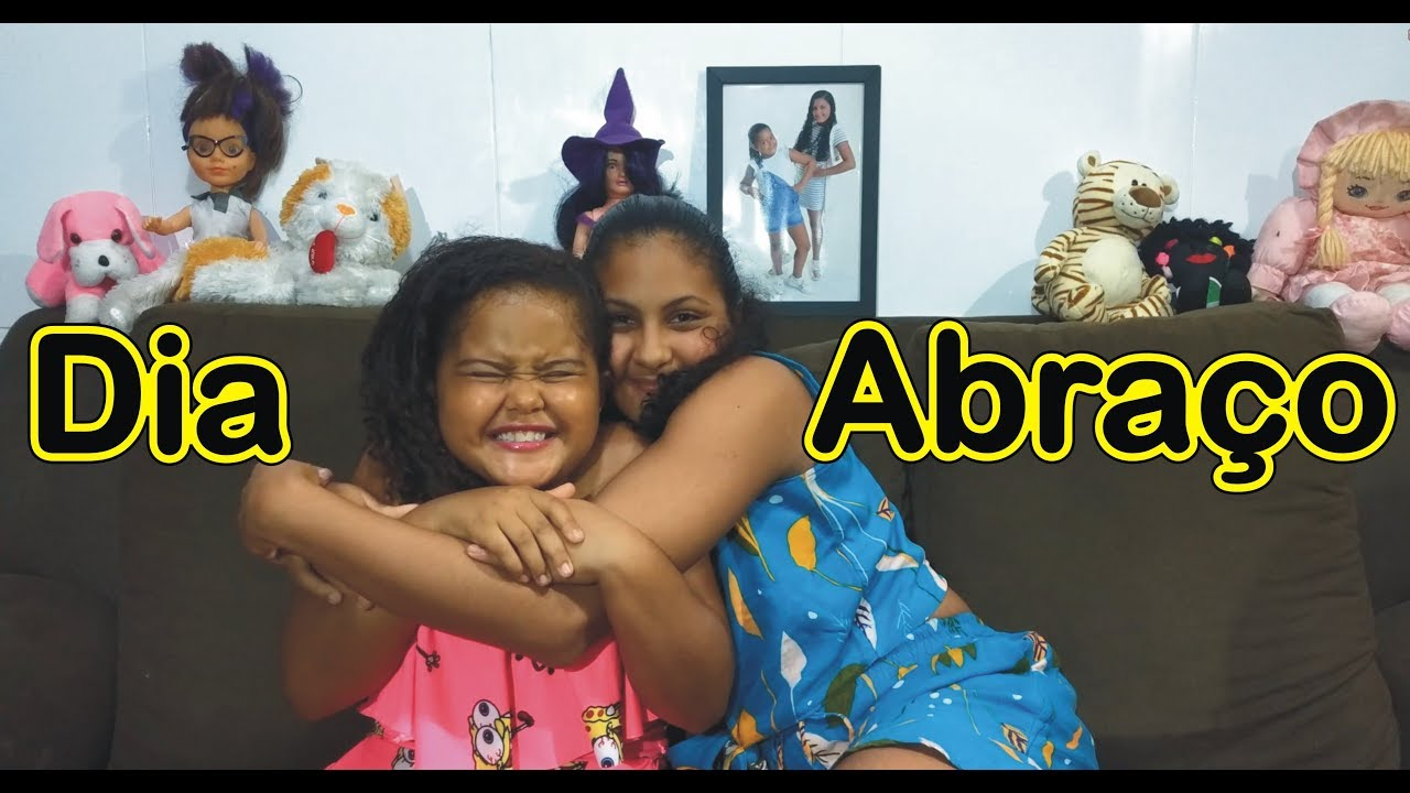 Feliz Dia Do Abraço Duda E Gabi Divertidas Youtube