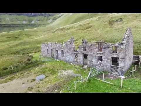 Gleniff,Horseshoe,Co Sligo Drone footage Sept 2016