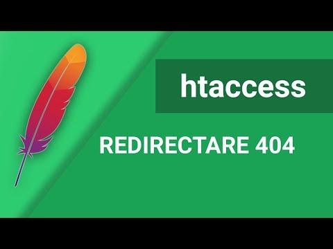 Tutorial Redirectare 404 Folosind Htaccess