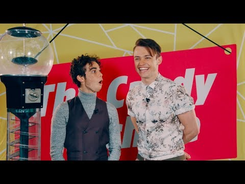 CAMERON BOYCE & THOMAS DOHERTY about FIRST KISS | Descandants 2