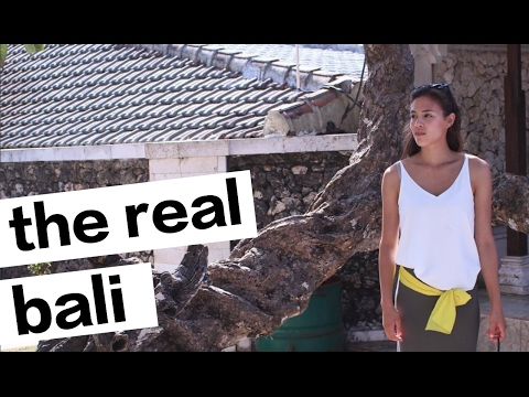 THE REAL STREETS OF BALI : TRAVEL VLOG