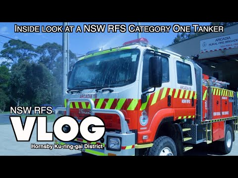 CATEGORY 1 TANKER - NSW RFS Hornsby Ku-Ring-Gai Vlog 6