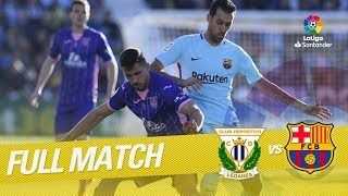 Download Video Full Match CD Leganés vs FC Barcelona LaLiga 2017/2018 MP3 3GP MP4