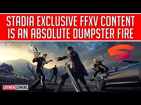 Square Takes a Huge Dump On Stadia With Embarrassing Exclusive Content