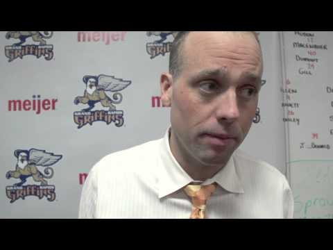 2-20-15 Grand Rapids Griffins vs Hamilton Bulldogs Post Game Highlights