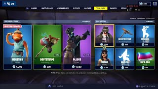 PLAGUE, SCOURGE & NOIR Skins are BACK - March 1st Fortnite Daily Item Shop LIVE