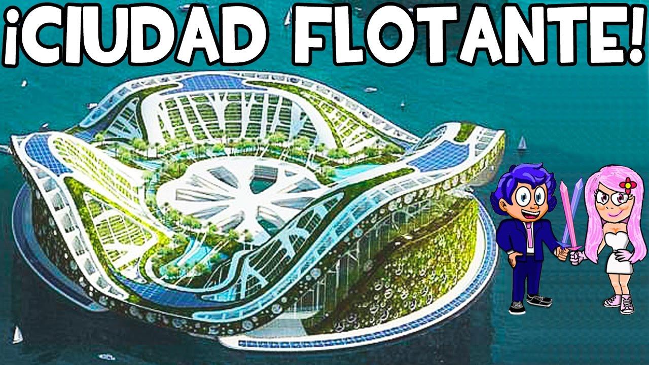 Ciudad flotante en minecraft lilypad city mapas for Blancana y mirote minecraft