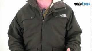 The North Face Men's Katavi Jacket - waxed, water resistant casual jacket Thumbnail