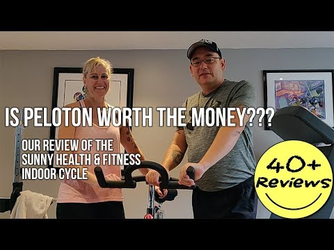 Indoor Cycle Review: Sunny Health And Fitness vs Peloton