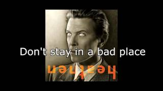 Watch David Bowie Everyone Says HI video