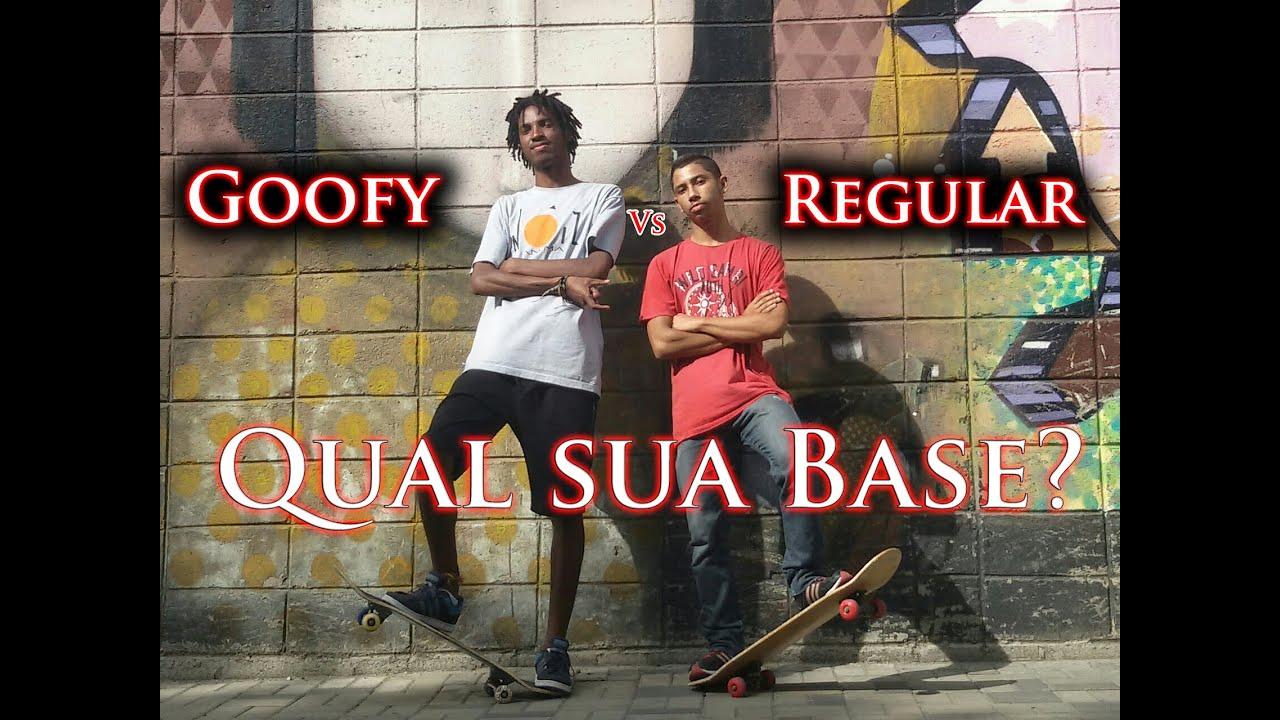 Bases do Skate - Qual a sua? (Goofy vs Regular)   Fundamentos #01 