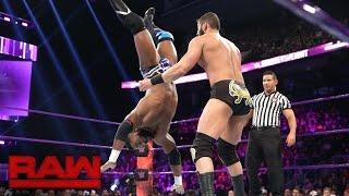 Cedric Alexander vs. Ariya Daivari: Raw, Nov. 21, 2016
