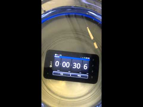 Samsung Rugby Smart: Water Submersion Test