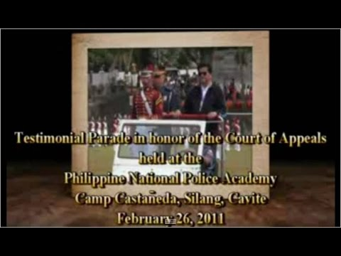 Philippine National Police Academy Testimonial Parade
