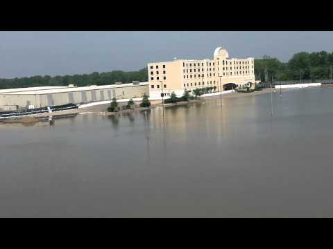 Flooding At Harlow's Casino Resort Greenville, MS 2011
