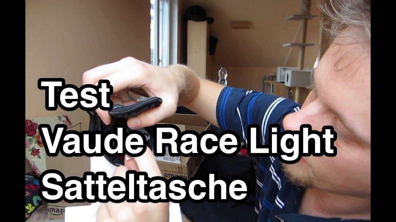 test vaude race light fahrrad satteltasche satteltasche. Black Bedroom Furniture Sets. Home Design Ideas