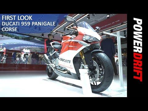 Ducati 959 Panigale Corse : EICMA 2017 : PowerDrift
