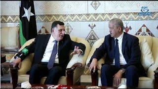 رئيس المجلس الرئاسي لحكومة الوفاق الوطني الليبي يشرع في زيارة إلى الجزائر