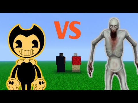 Bendy Vs Scp 096 Di Mcpe Youtube