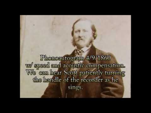 The Very First Recordings (1859-1879)