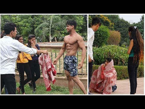 beggar-with-6-pack-abs-prank-|fitmanjeet|