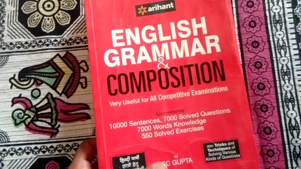 Comprehensive English Grammar Book