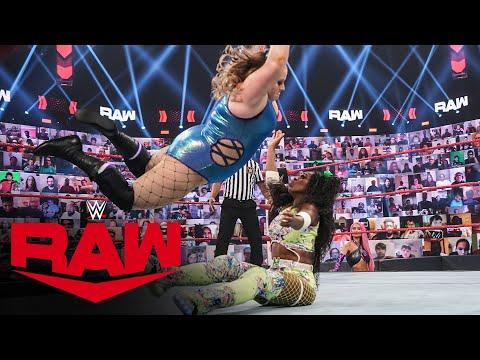 Eva Marie's mystery friend battles Naomi: Raw, June 14, 2021