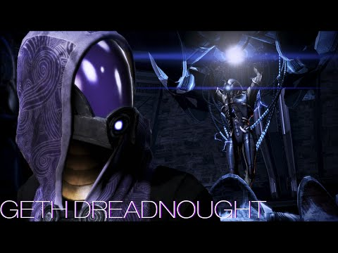 Mass Effect 3: Geth Dreadnought (All Characters/Dialogue)