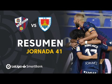 Huesca Numancia Goals And Highlights