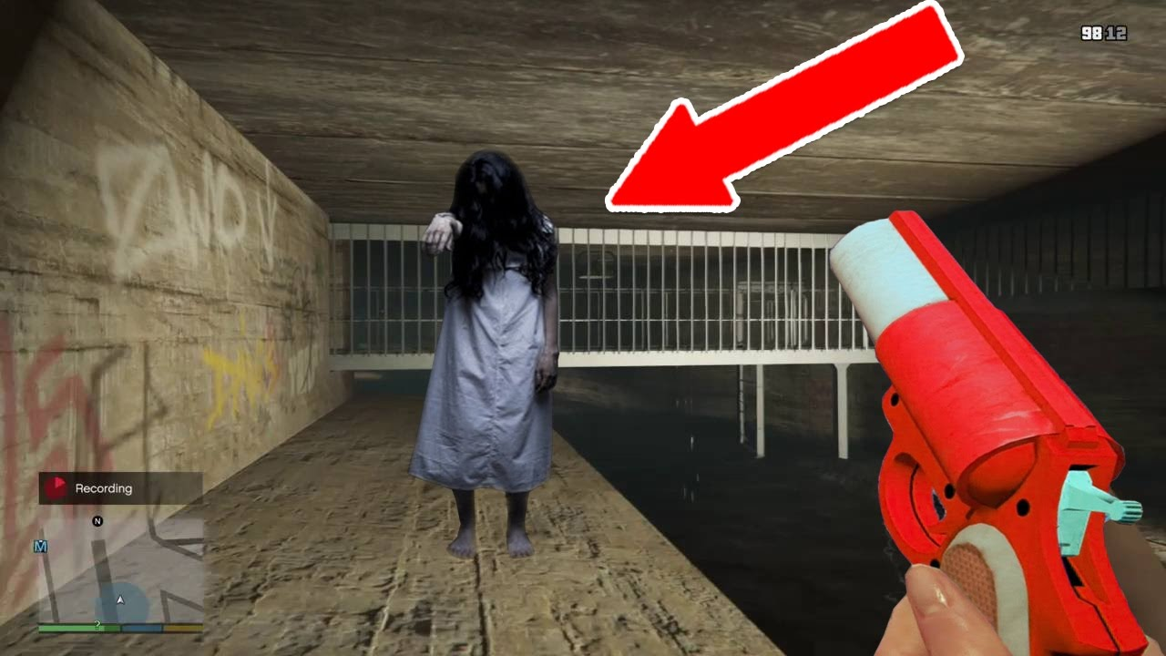 Gta 5 Lost Girl Found In The Sewers Playing Gta 5 3