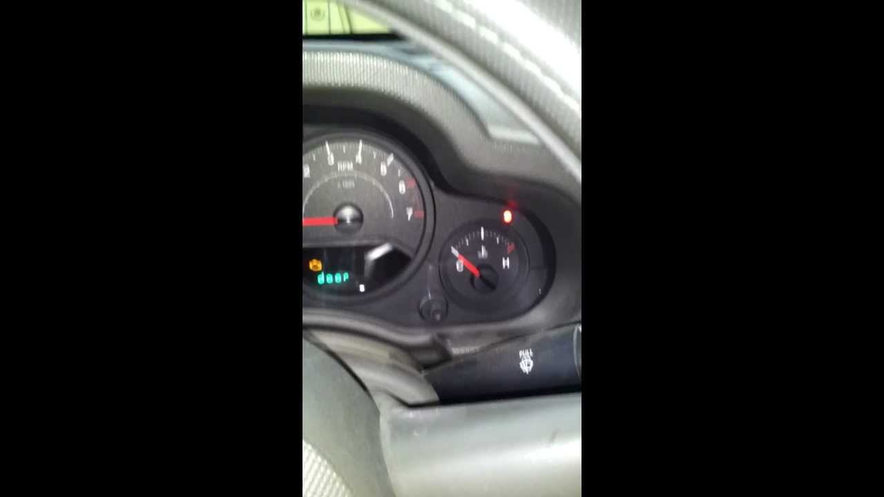 small resolution of 2007 2008 jeep wrangler won t start sentry key security alarm light on above temp fix youtube