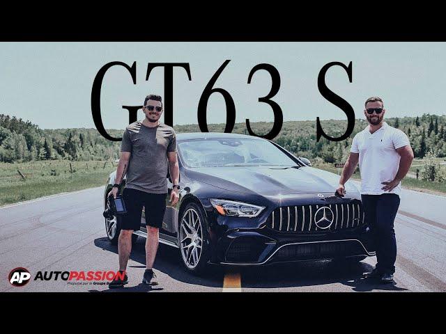 Mercedes-AMG GT63s 4 portes coupé - Essai AutoPassion - Pure Puissance