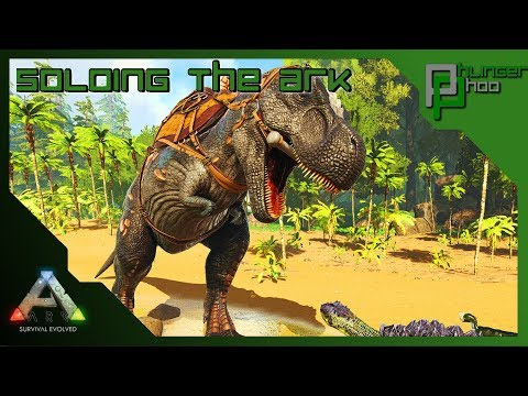 Soloing the Ark S4E63 - GEARING UP THE REX ARMY - INDUSTRIAL FORGE!