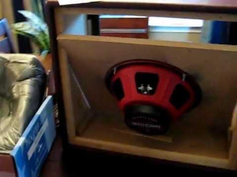 Diy 1x12 Guitar Speaker Cab 3 Avi