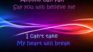 Gareth Gates- Anyone Of Us (Stupid Mistake) LYRICS