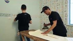 پالاز - نصب کاغذ دیواری