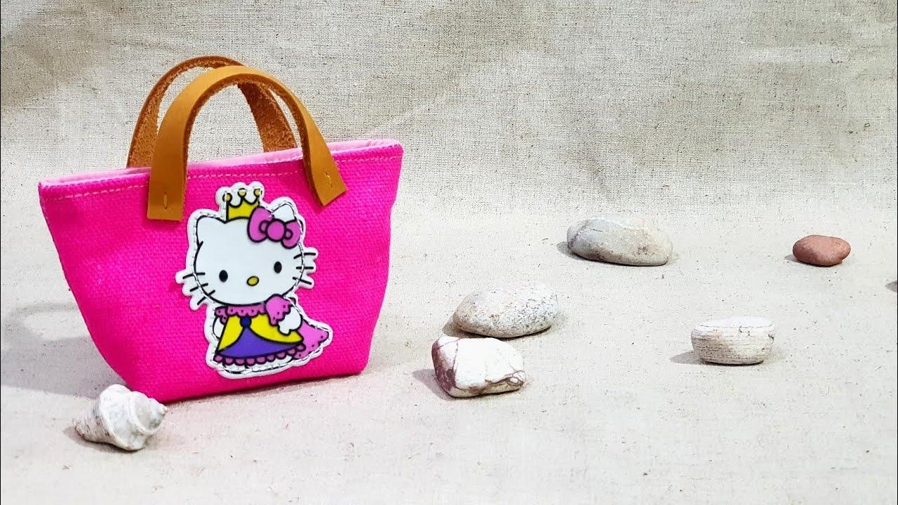How To Make O Kitty Mini Bag