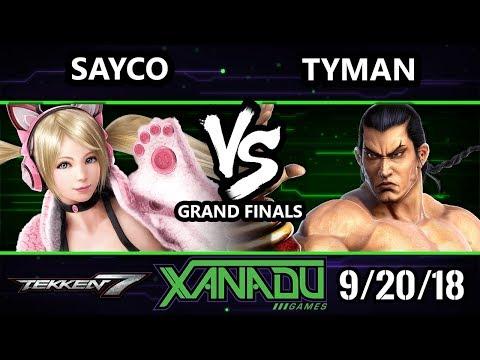 F@X 268 T7  -  Tyman [L] (Feng) Vs. VATR | Sayco (Chloe) Tekken 7 Grand Finals