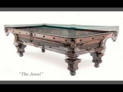 Antique Pool Tables - Vintage Brunswick - Nashville BIlliard & Patio