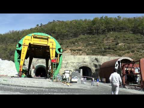 Jammu Srinagar NH four laning Project