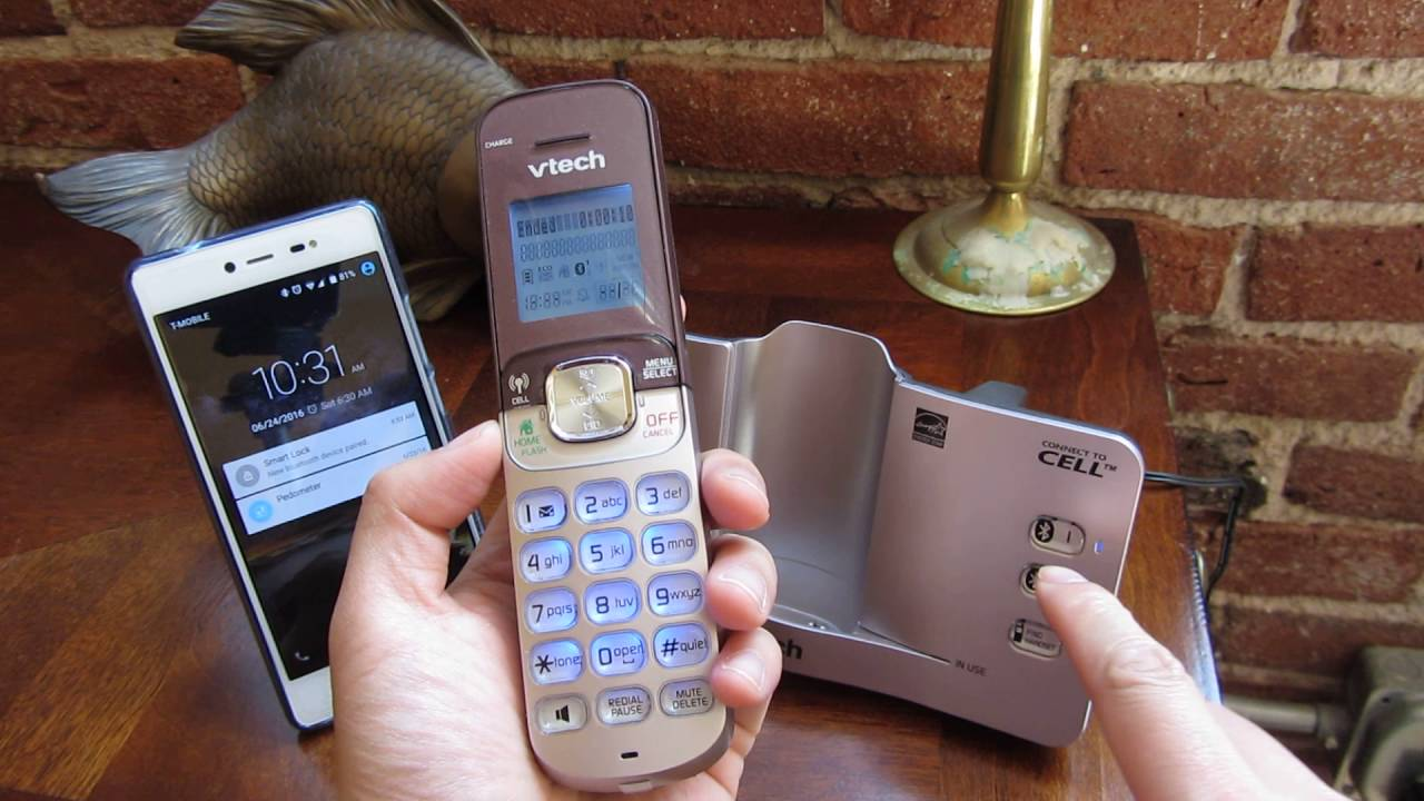 Vtech Connect To Cell  How To Unpair Bluetooth Cell Phone