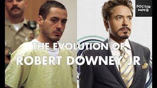 Эволюция Роберта Дауни младшего. Evolution of Robert Downey Jr.