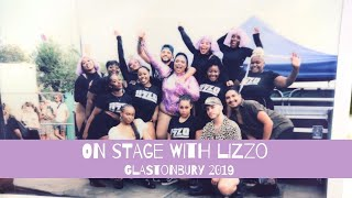 THE CURVE CATWALK PERFORMS WITH LIZZO AT GLASTONBURY 2019