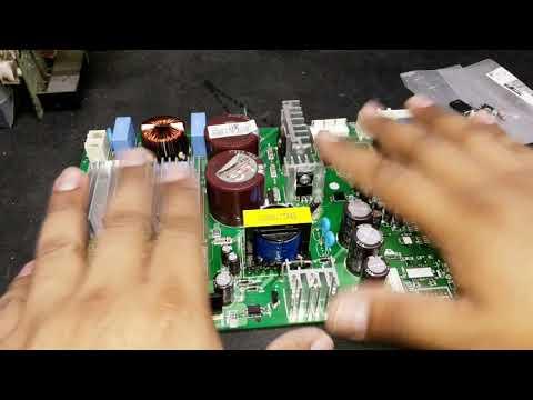 Reparacion De Tarjeta Refrigerador LG Inverter Lineal, Regulador STRW6052S Dañado