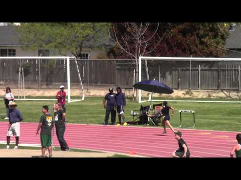 Rafer Johnson @ Kingsburg: Girls 400m: 3/22/2014